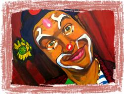 Clown mime magicien Paris
